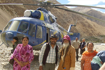 Mt Kailash Helicopter Tour