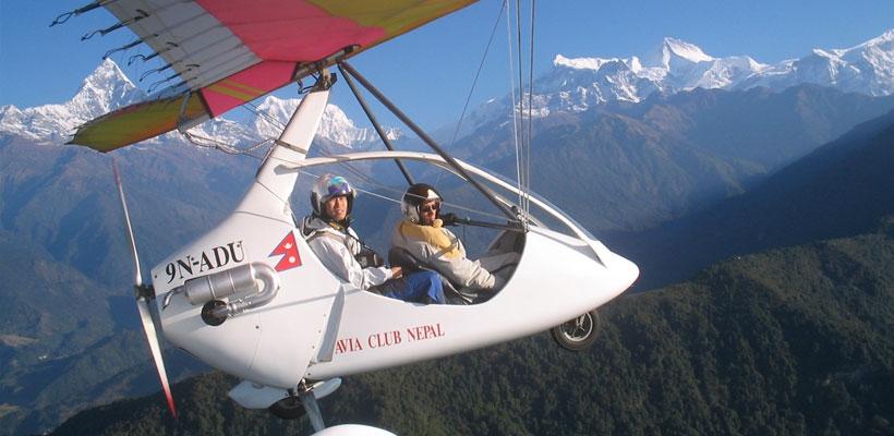 Ultra Flight in Nepal, Nepal Ultralight Flight, Pokhara